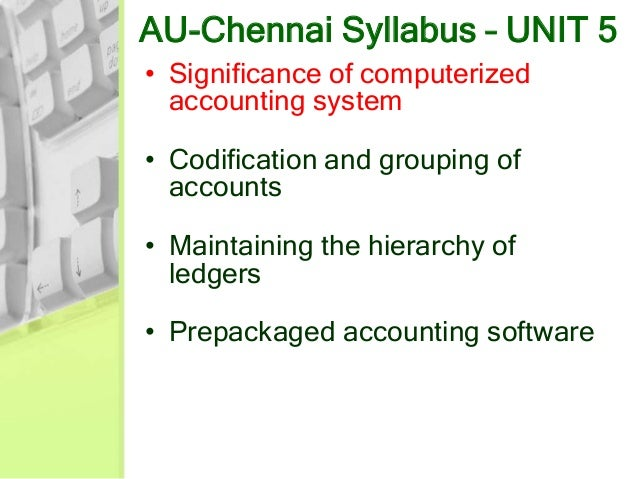 computerized accounting system objectives The objectives of the study were to determine the uses of a computerized accounting information system, to find out the pros and cons of computerized.