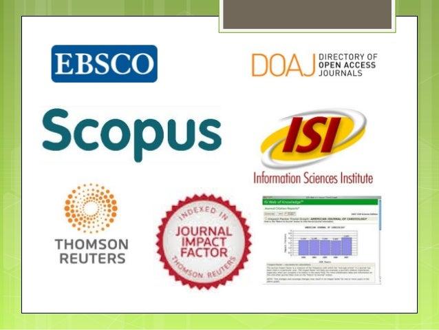 Journal Classification and Scopus Criteria