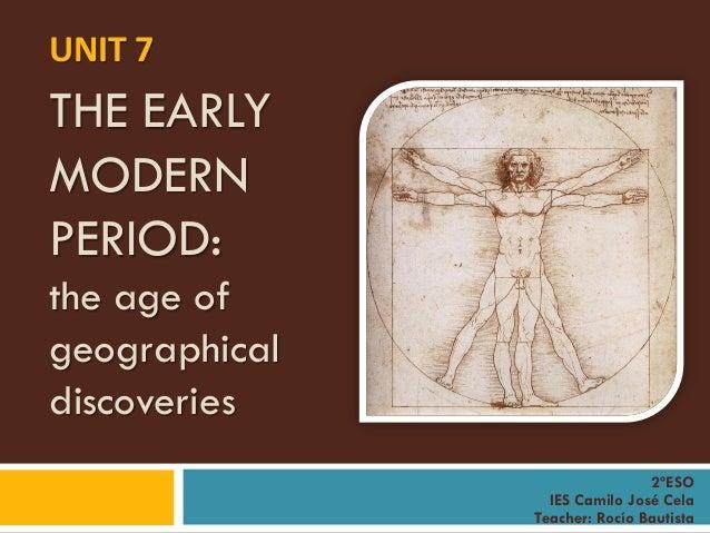 Early Modern History