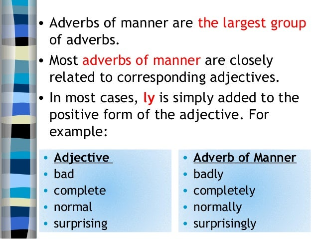 U7 Adverb Of Manner 3 Ero 2a