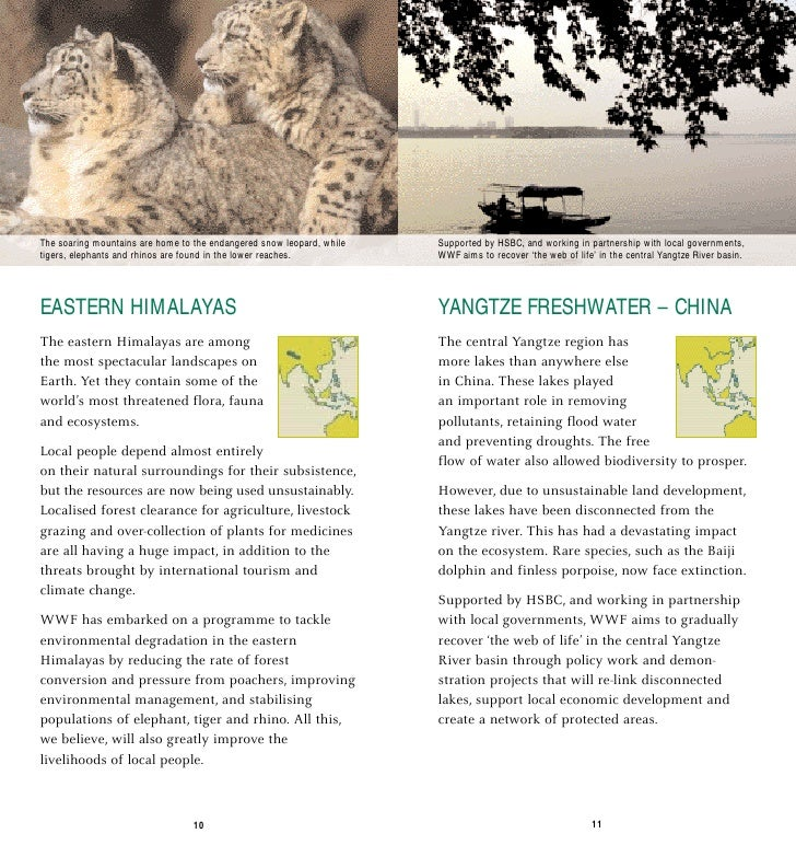 The soaring mountains are home to the endangered snow leopard, while   Supported by HSBC, and working in partnership with ...