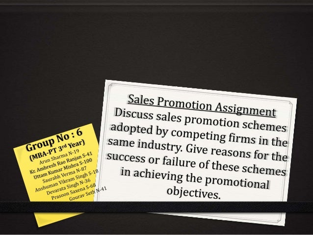 INDEX 0 Need of Sales Promotion Schemes 0 Sales Promotion Schemes at Consumer's Level 0 Sales Promotion Schemes at Dealer'...