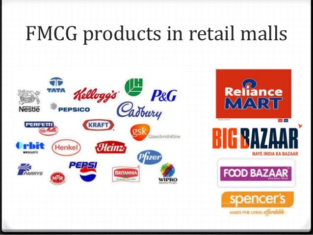 FMCG products in retail malls 0 People buying from retail malls in Tier I city: