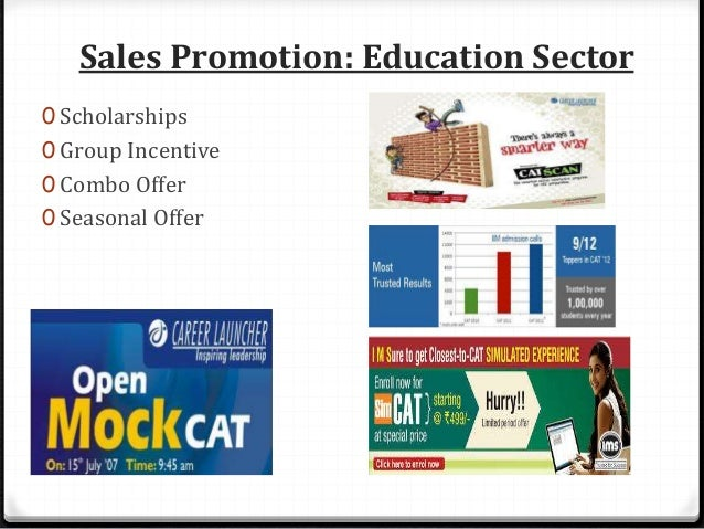 Sales Promotion: Telecom Sector 1. Tariff Discounts : Idea, Aircel and Docomo provide cheaper call rates to attract custom...