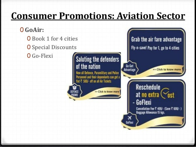 Consumer Promotions: Aviation Sector 0 Jet Airways: 0 JetPrevilege Offers 0 eduJetter 0 One fare pass 0 JetPrivilege Photo...