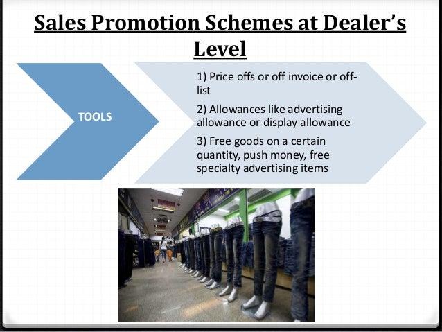 Sales Promotion Schemes at Sales Person's Level 1) Incentive Programs 2) Sales Contest for representatives 3) Quota allotm...