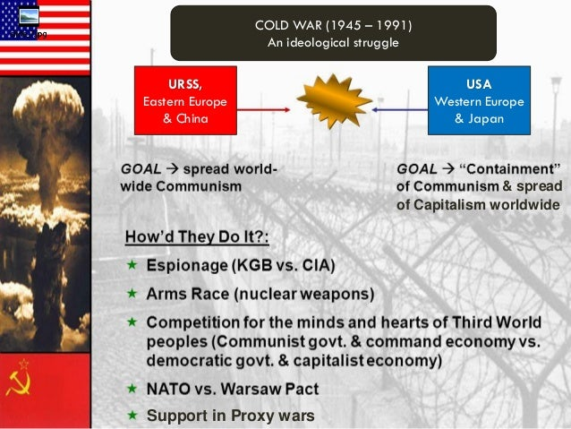 """the genesis of the hostilities between the us and the soviet union that led to cold war Cold war - military history  this appellation describes the period of hostility  between the communist and capitalist countries in the years following world war  ii  """"cold war"""" between the united states and the soviet union."""