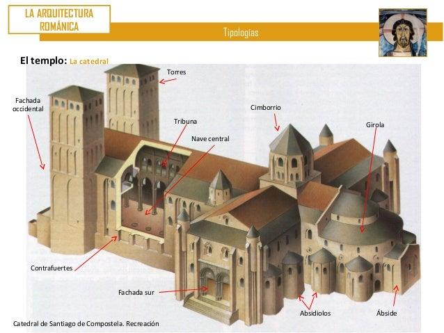 U8 arte rom nico ii arquitectura caracter sticas tipolog as evo - Santiago de compostela arquitectura ...