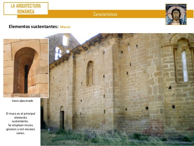 U8 arte rom nico ii arquitectura caracter sticas - Vano arquitectura ...