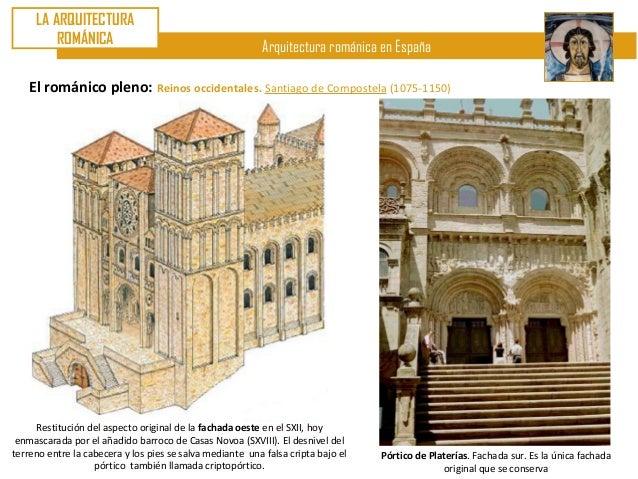 U8 arte rom nico vi arquitectura rom nica en espa a for Arquitectura de espana