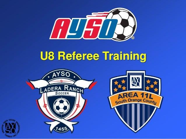 U8 Referee Training