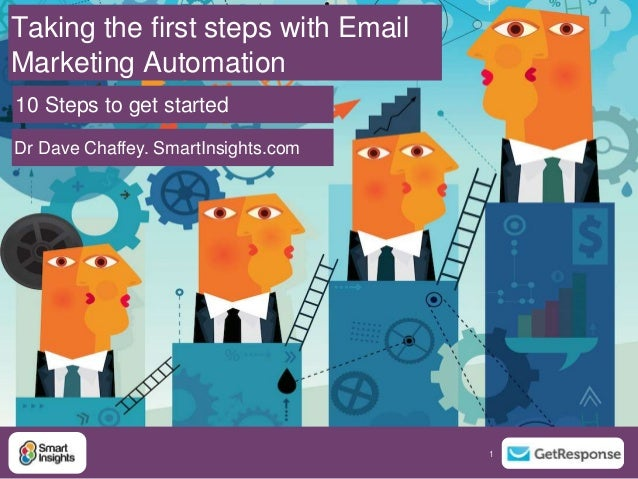 1 1 Taking the first steps with Email Marketing Automation Dr Dave Chaffey. SmartInsights.com 10 Steps to get started