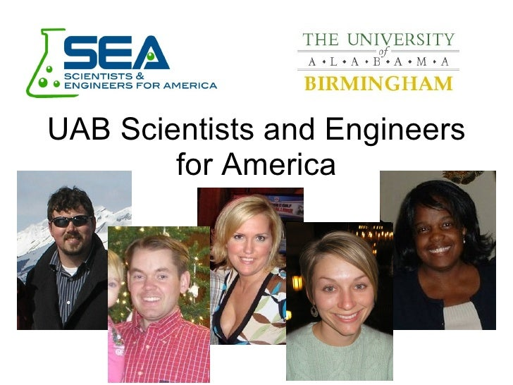 UAB Scientists and Engineers for America