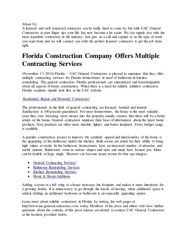 About Us: A Licensed And Well Respected Contractor Can Be Really Hard To  Come By ...