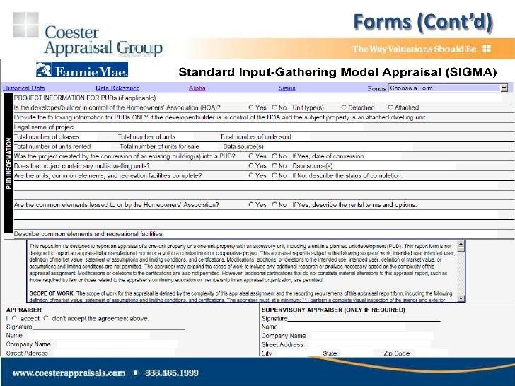 fannie mae appraisal desk review form