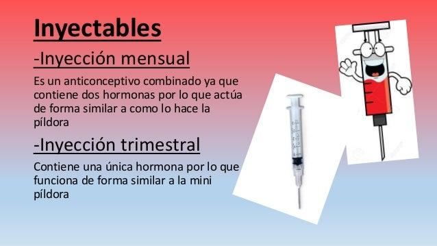 Inyeccion anticonceptiva