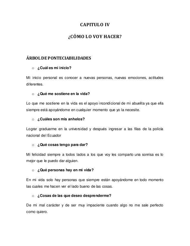 proyecto de vida universidad agraria del ecuador - milagro