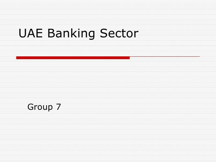 UAE Banking Sector Group 7