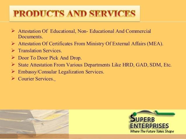 Uae embassy certificate attestation procedure for Consul external service