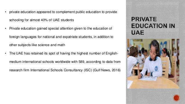 education and development in uae education essay Education essay everyone would agree that education is a fundamental way of life  economic and cultural development the best means to achieve the development in .