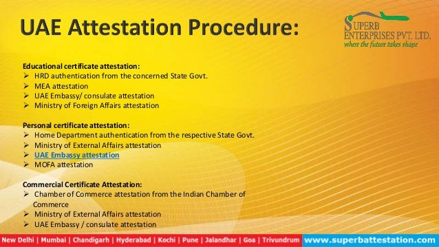 Uae embassy attestation from india for Consul external service
