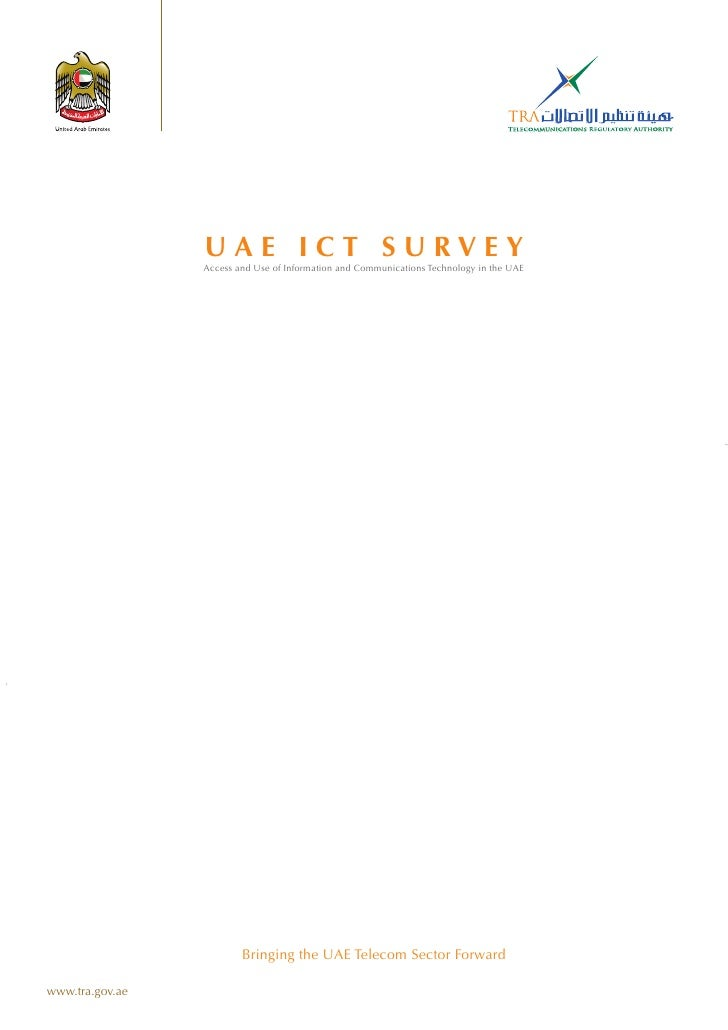 United Arab Emirates ICT Survey