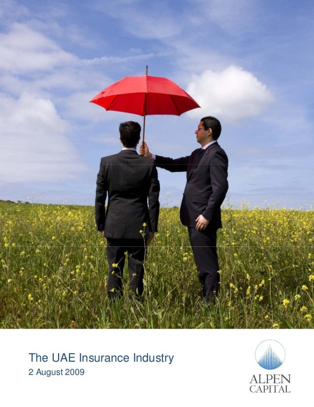 The UAE Insurance Industry 2 August 2009