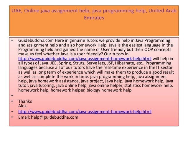uae java assignment help java tutoring online java tutors online o help guidebuddha com 6 uae online java