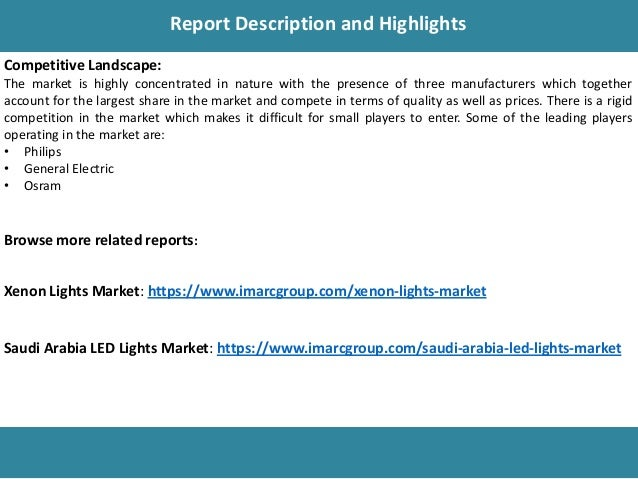 UAE LED Lights Market Share, Size, Price Trends And Forecast