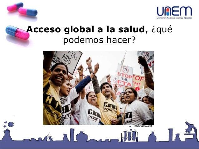 Acceso global a la salud, ¿qué podemos hacer? msfaccess.org