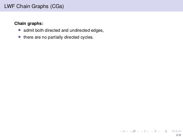Learning LWF Chain Graphs: A Markov Blanket Discovery Approach Slide 3
