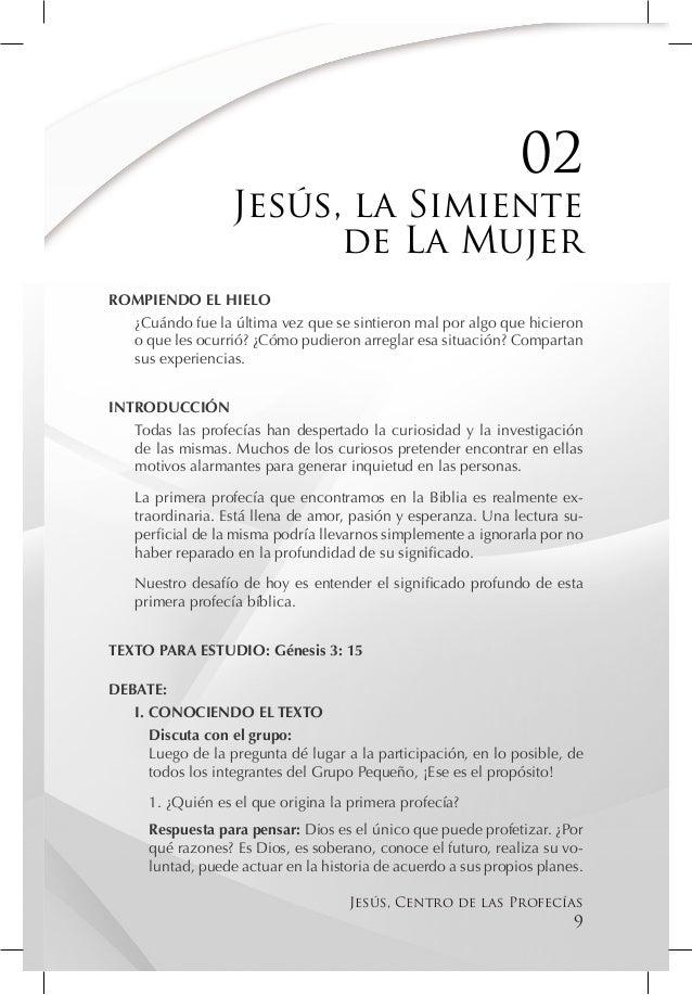 02                   Jesús, la Simiente                         de La MujerROMPIENDO EL HIELO  ¿Cuándo fue la última vez q...