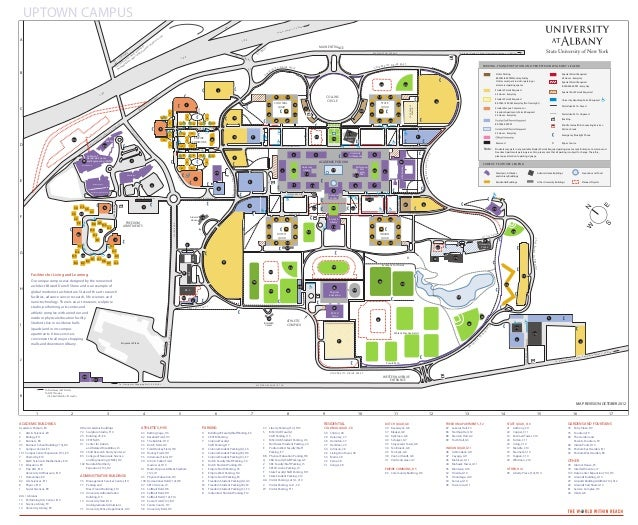 Ualbany Campus Map