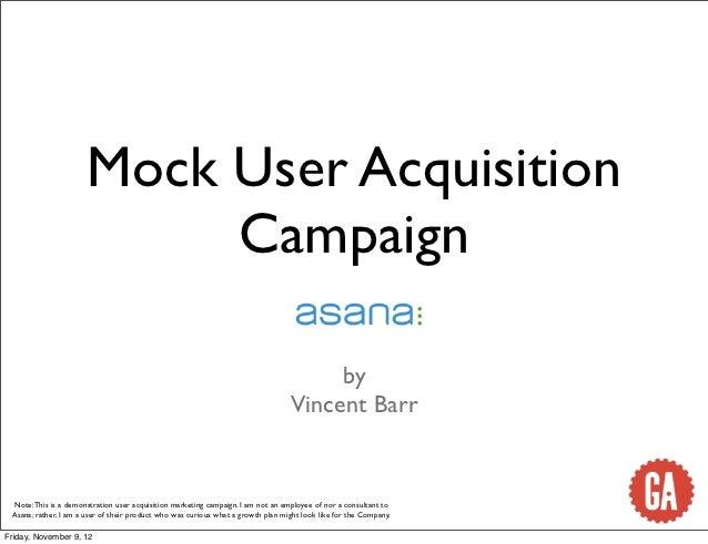 Mock User Acquisition                           Campaign                                                                  ...