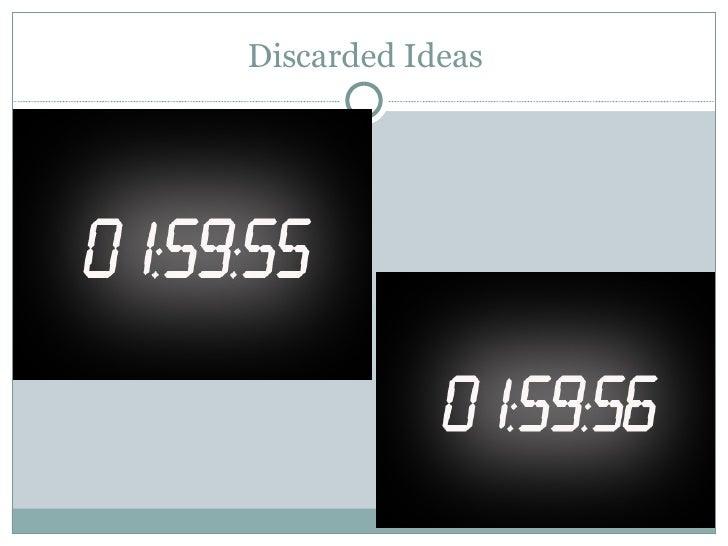 Discarded Ideas
