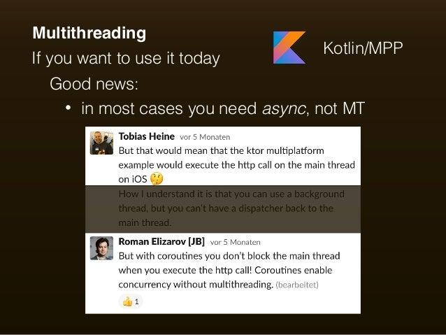 Multiplatform shared codebase with Kotlin/Native - UA Mobile
