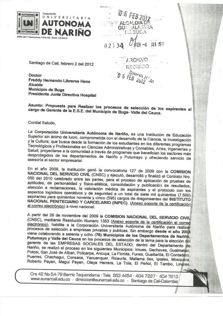 Universidad Autonoma De Nariño