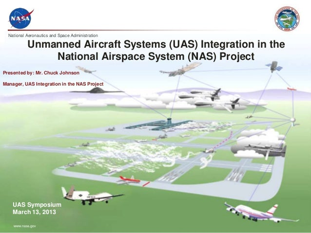 National Aeronautics and Space Administrationwww.nasa.govUnmanned Aircraft Systems (UAS) Integration in theNational Airspa...