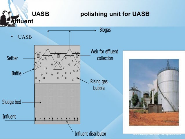 sewage treatment plant by UASB technology