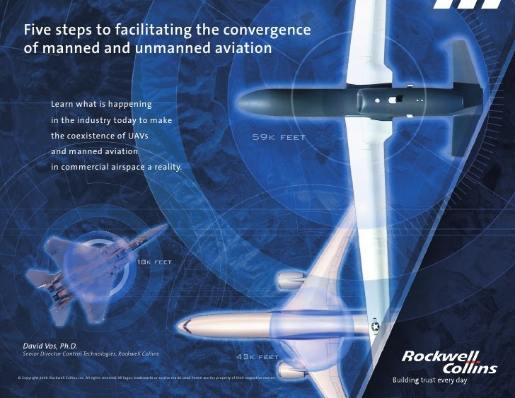 Five steps to facilitating the convergence    of manned and unmanned aviation                       Learn what is happenin...