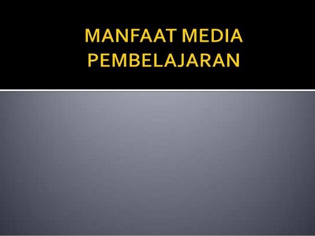 Ppt Media Pembelajaran