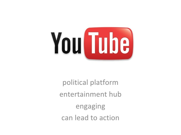 political platform entertainment hub engaging can lead to action