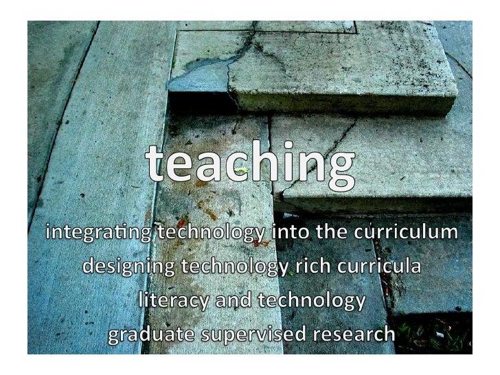 my practice  teaching advising research service et alia