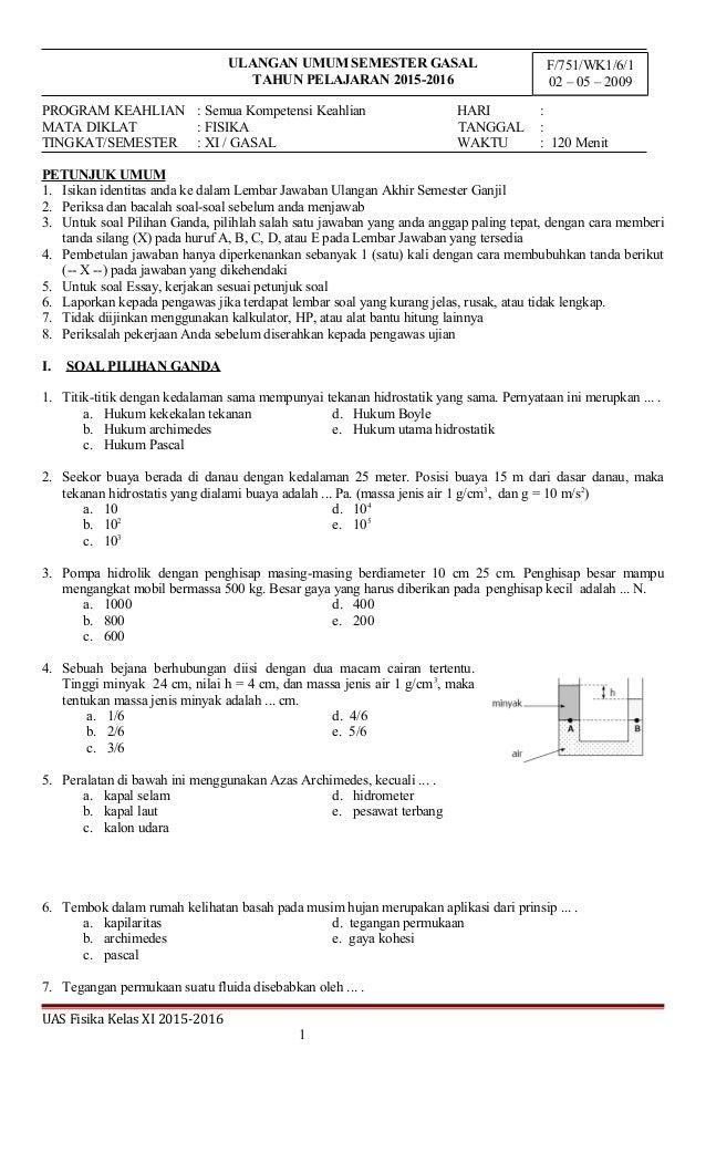 Download Pdf Soal Fisika Kelas 8