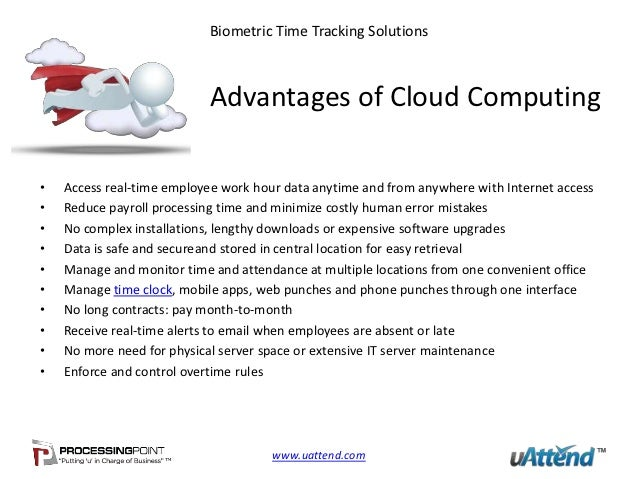 uAttend's Web Based Time Tracking Software
