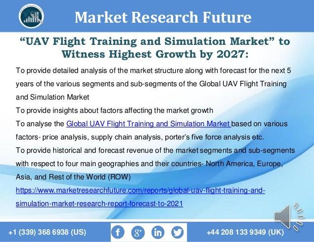 "Market Research Future +1 (339) 368 6938 (US) +44 208 133 9349 (UK) ""UAV Flight Training and Simulation Market"" to Witness..."