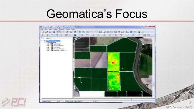 pci geomatica 2017 how to create a mosaic