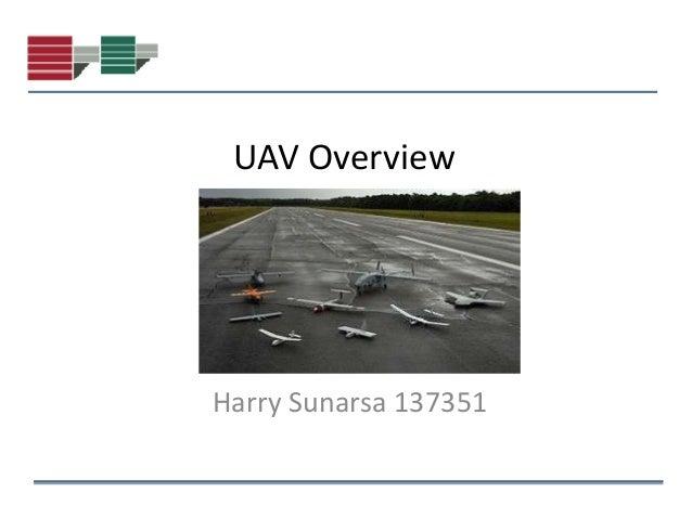 UAV OverviewHarry Sunarsa 137351