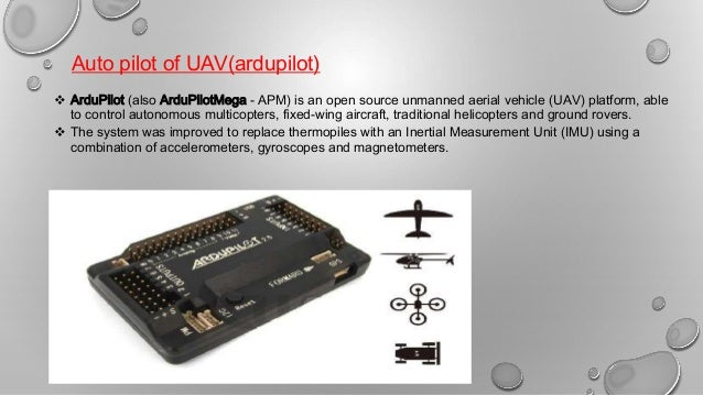 Design and Operation of UAV