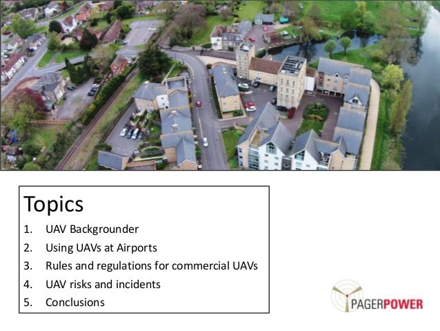 UAVs and Airports Slide 2